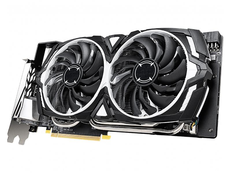 Видеокарта MSI Radeon RX 590 1545Mhz PCI-E 3.0 8192Mb 8000Mhz 256 bit DL-DVI 2xDP 2xHDMI HDCP ARMOR 8G