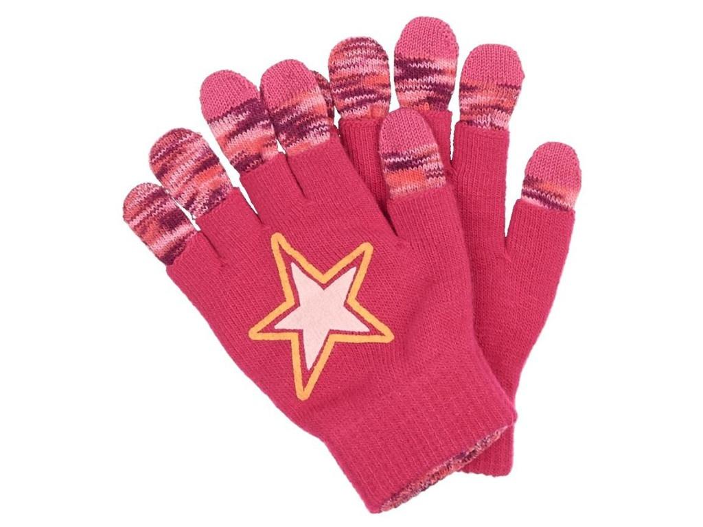 Теплые перчатки для сенсорных дисплеев Territory р.UNI Pink 1613