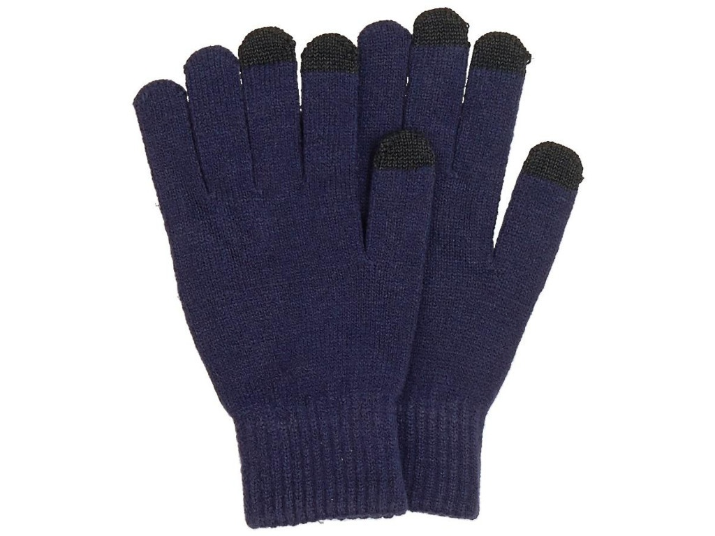 Теплые перчатки для сенсорных дисплеев Territory р.UNI Blue 1514