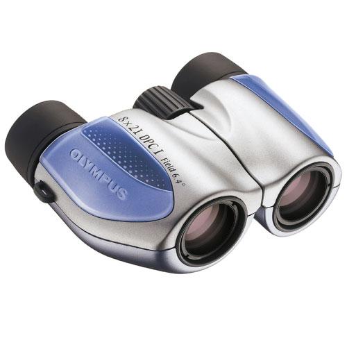 Фото - Бинокль Olympus 8x21 DPC I Blue бинокль olympus 8 16x40 zoom dps i n1240582
