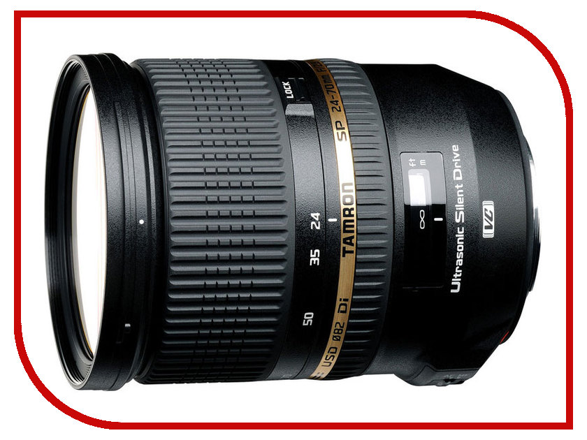 Объектив Tamron AF SP 24-70mm f/2.8 DI VC USD Nikon F free shipping new and original for niko lens af s nikkor 70 200mm f 2 8g ed vr 70 200 protector ring unit 1c999 172