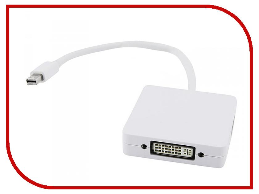 Аксессуар Espada MiniDisplay Port M to DVI-I/HDMI/DisplayPort F 20 cm EMDPM-3in1 DPF20