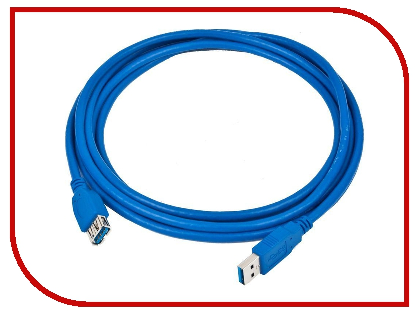 Аксессуар 5bites USB 3.0 AM-AF 3m UC3011-030F фонарь maglite 2d синий 25 см в картонной коробке 947191