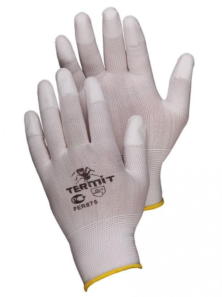 Перчатки нейлоновые р. 7 (S) ПЕР875 цена