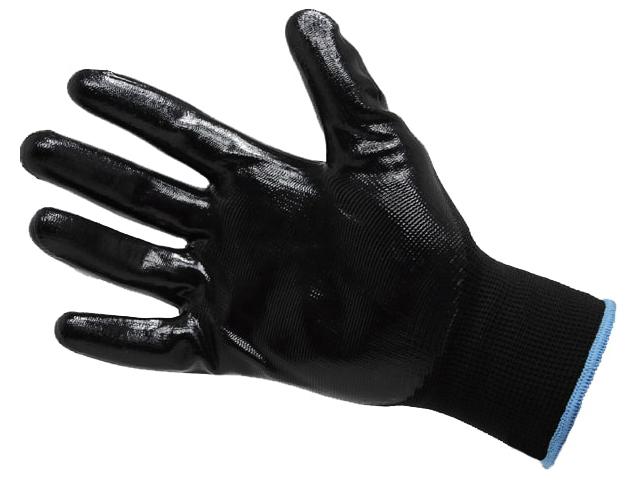Перчатки нейлоновые с нитриловым покрытием р. 7 (S) ПЕР877 цена