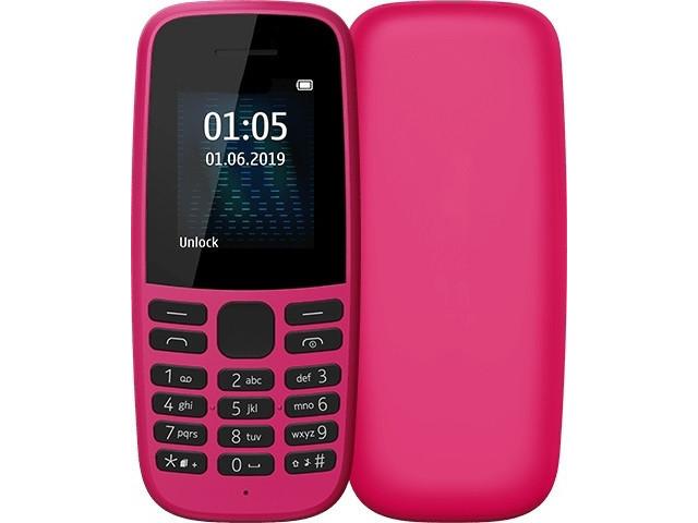 Сотовый телефон Nokia 105 (2019) Pink сотовый телефон nokia 105 blue