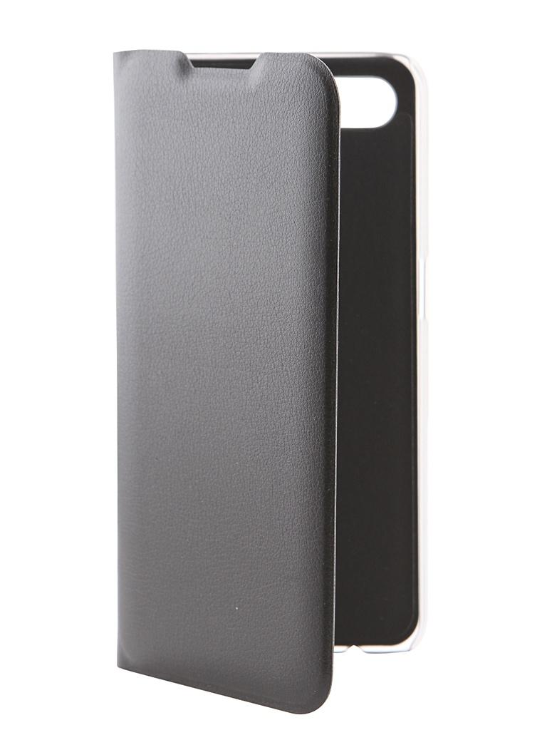 Аксессуар Чехол Red Line для OPPO A5s Book Cover Black УТ000018665
