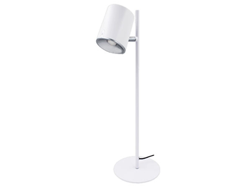 Настольная лампа Ультра Лайт UL0136 White-Silver