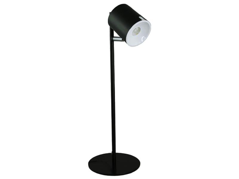 Настольная лампа Ультра Лайт UL0136 Black-Silver