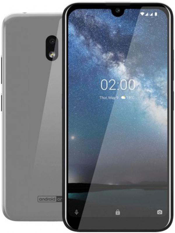 Сотовый телефон Nokia 2.2 (TA-1188) 16Gb Steel Выгодный набор + серт. 200Р!!! сотовый