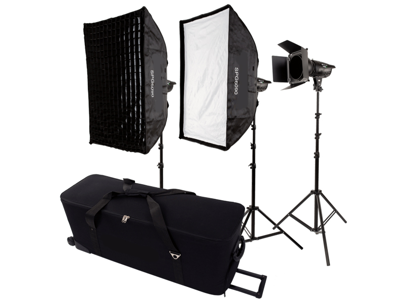 Комплект студийного света Raylab Axio III 300 Creative Kit