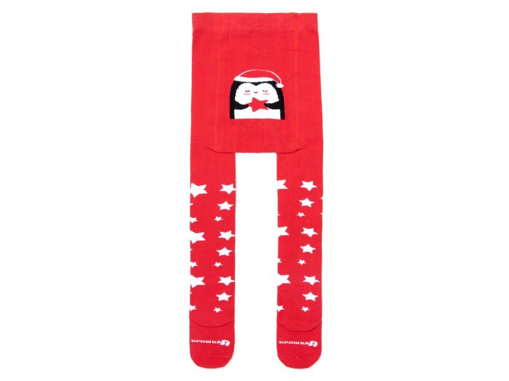 Колготки Крошка Я Пингвиненок Размер 86-92cm Red 3566384