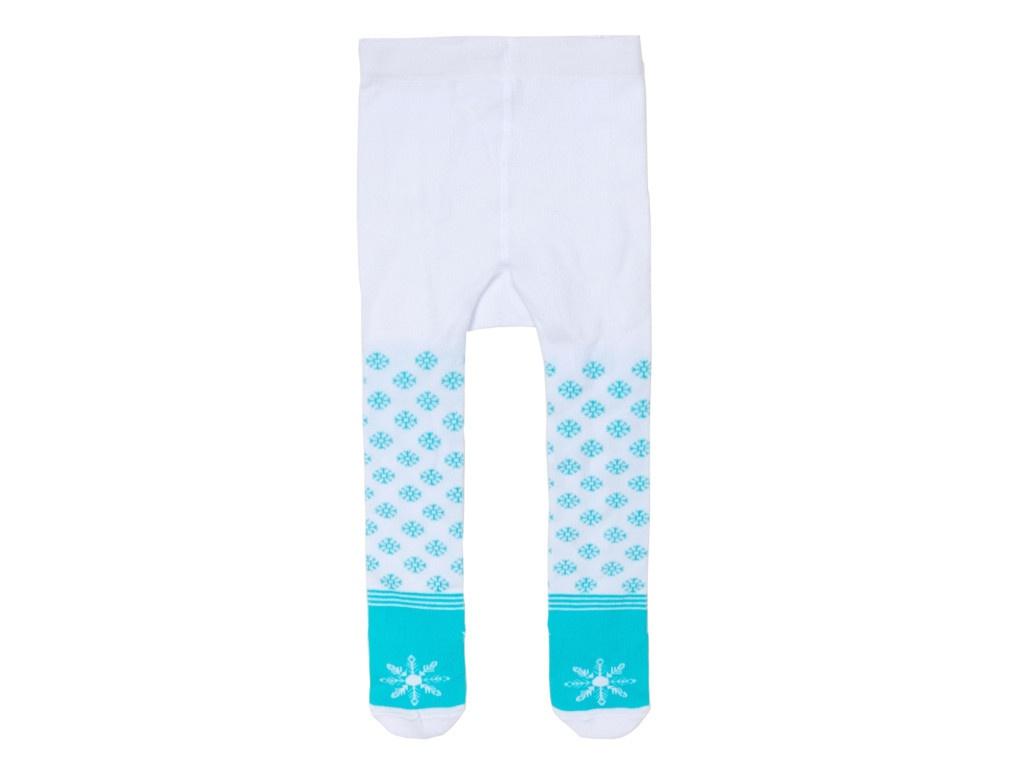Колготки Крошка Я Снежинка Рост 86-92cm White-Light Blue 3566411