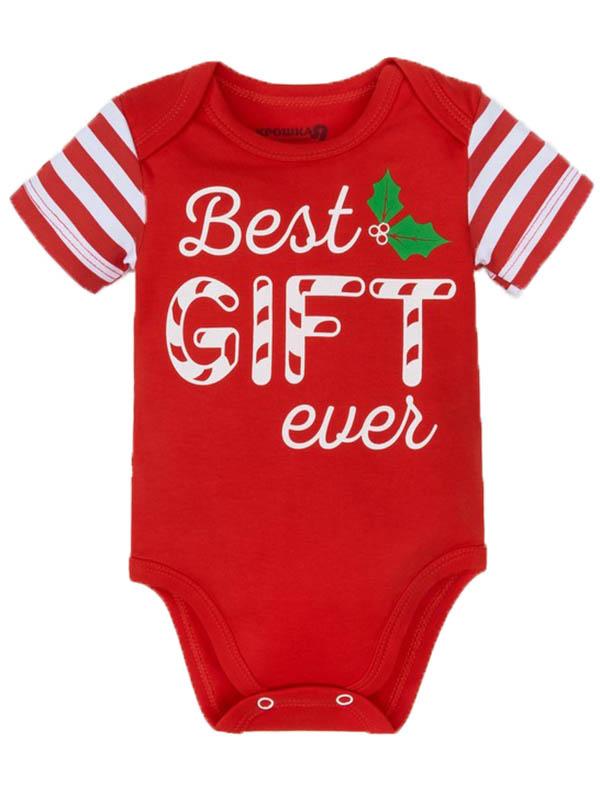 Боди Крошка Я Best Gift Рост 62-68cm Red 3579753