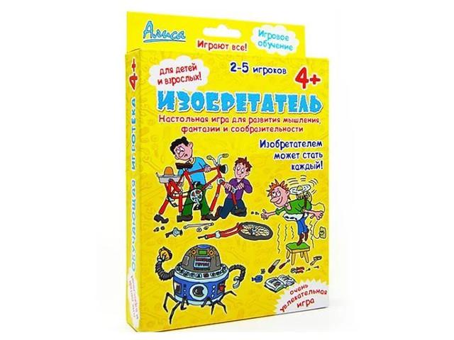 Настольная игра Нескучные игры Алиса. Изобретатель