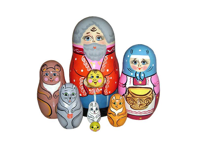 Матрешка Нескучные игры Колобок Р-45/742