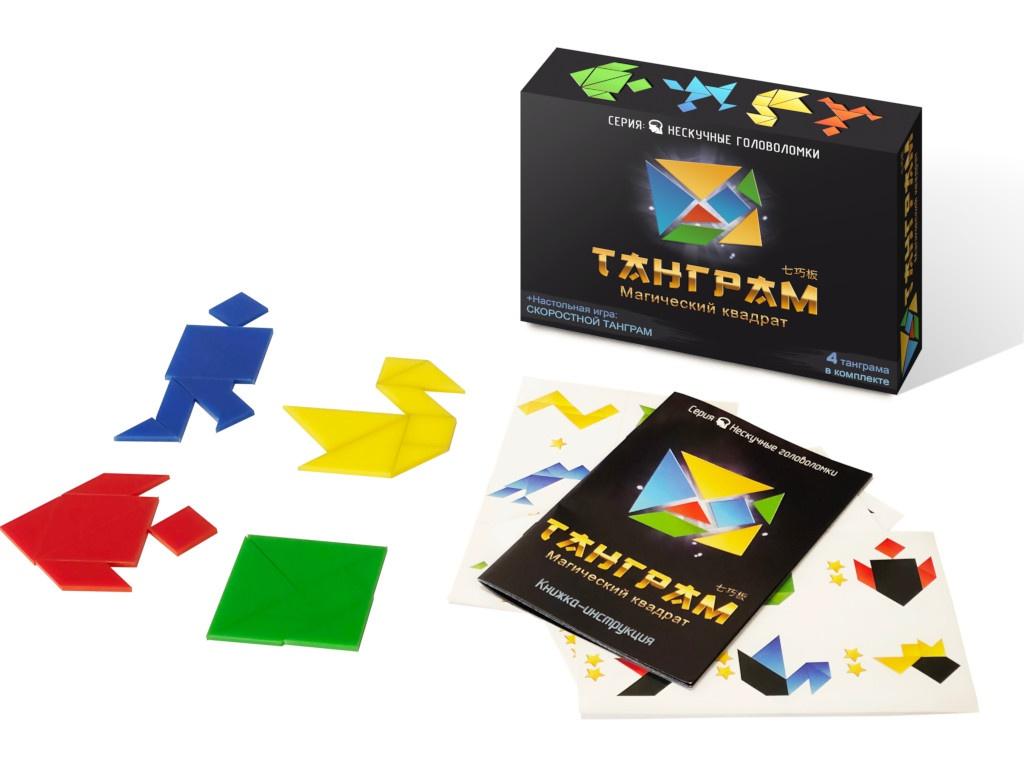Головоломка Нескучные игры Танграм 8028