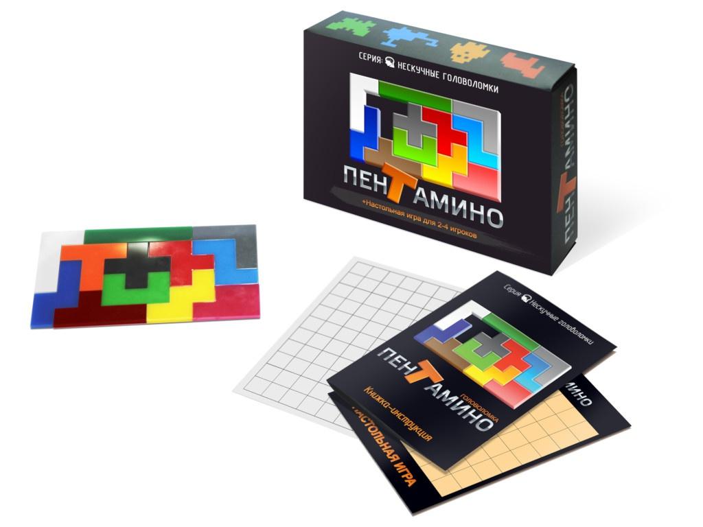 Головоломка Нескучные игры Пентамино 8058