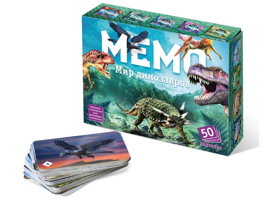 Настольная игра Нескучные игры Мир динозавров 8083