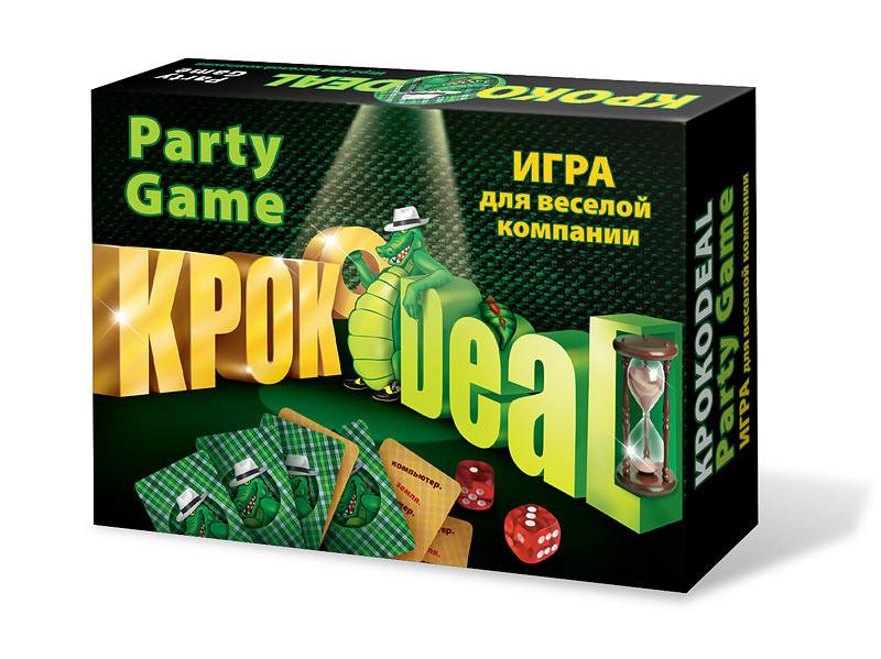 Настольная игра Нескучные игры Кроко deal 7060