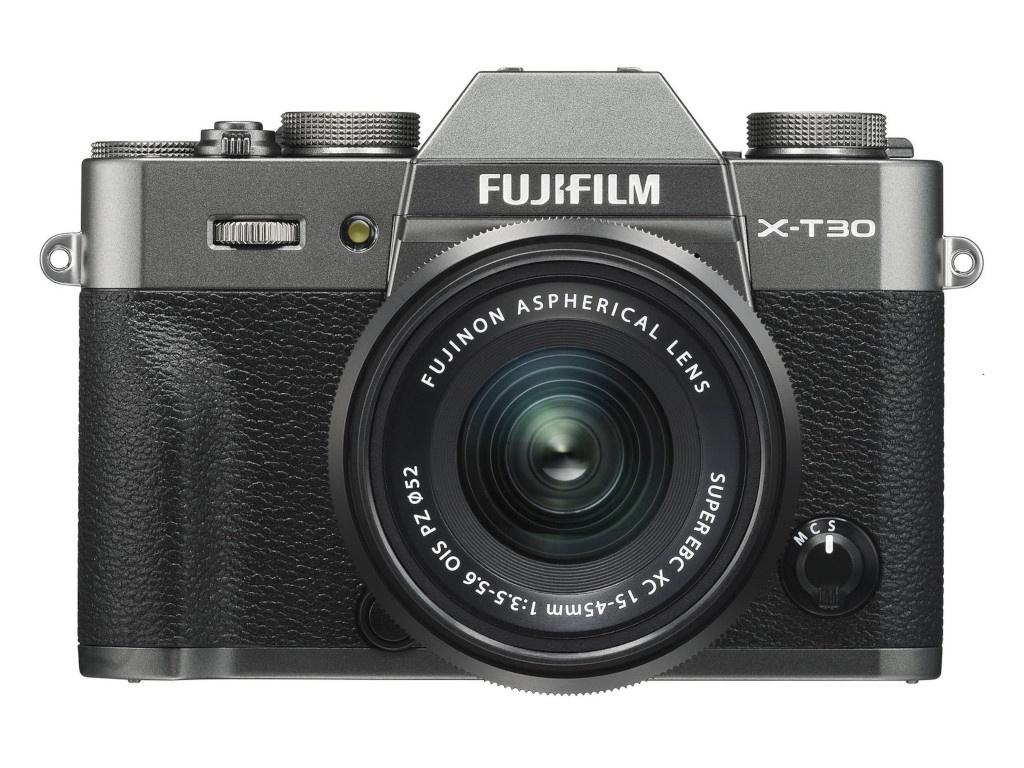 Фотоаппарат FujiFilm X-T30 Kit 15-45mm Charcoal Silver фото