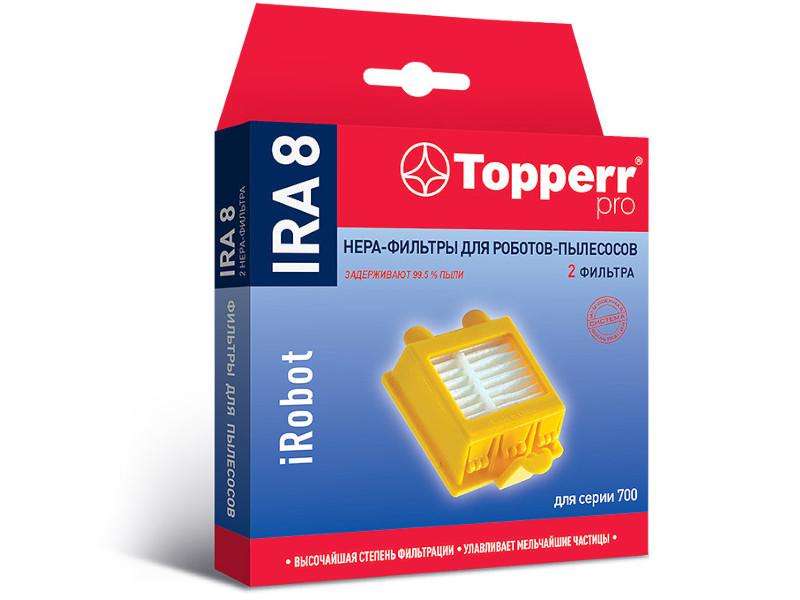 HEPA-фильтр Topperr IRA 8 для пылесосов iRobot Roomba 700 серии 2шт 2208