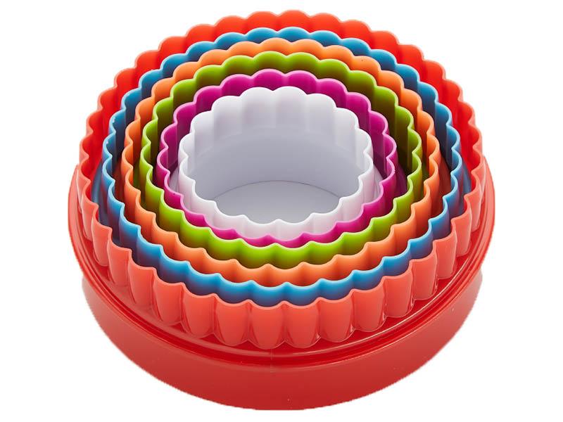 Набор форм для печенья Круг ТД9-039