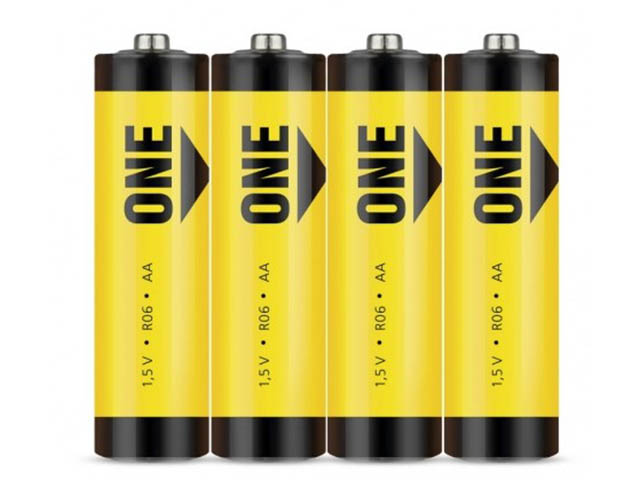 Батарейка AA - SmartBuy One R6 SOBZ-2A04S-Eco (4 штуки)