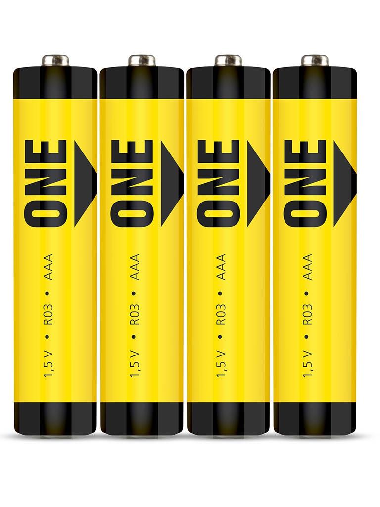 Батарейка AAA - SmartBuy One R03 SOBZ-3A04S-Eco (4 штуки)