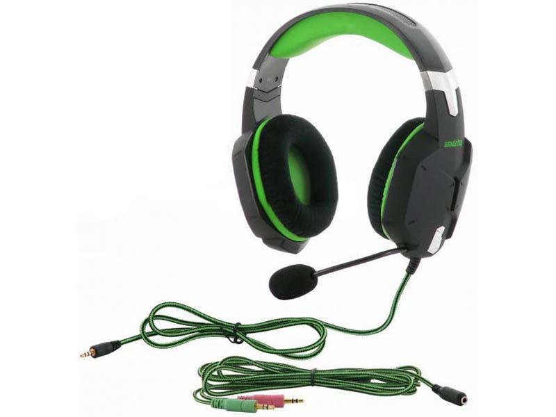 Наушники SmartBuy Rush Viper Black-Green SBHG-2100