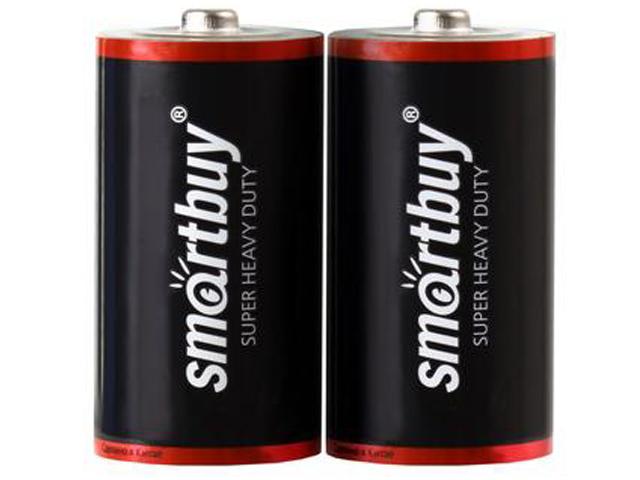 Батарейка C- SmartBuy R14 SBBZ-C02S (2 штуки)