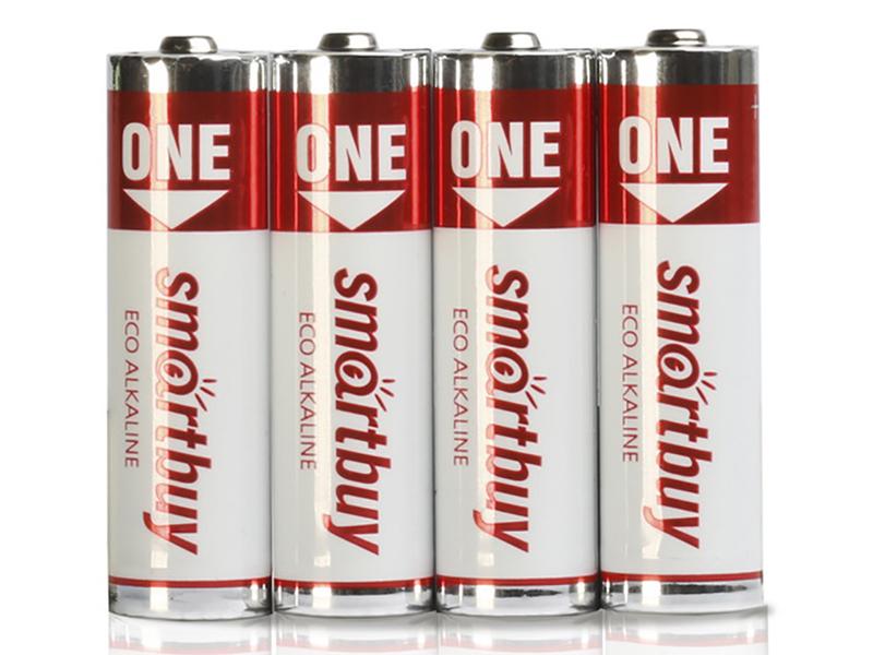 Батарейка AAA - SmartBuy One LR03 SOBA-3A04B-Eco (4 штуки)