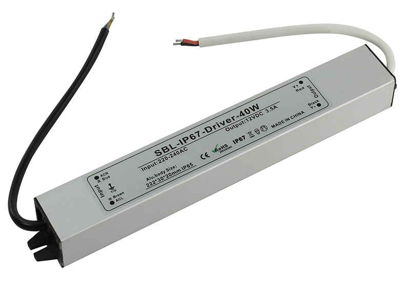 Контроллер SmartBuy SBL-IP67-Driver-40W для LED ленты IP67