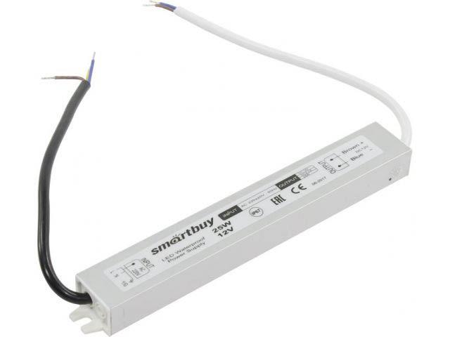 Блок питания SmartBuy SBL-IP67-Driver-25W для LED ленты IP67