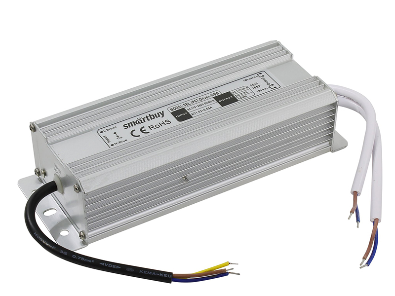 Блок питания SmartBuy SBL-IP67-Driver-100W для LED ленты IP67