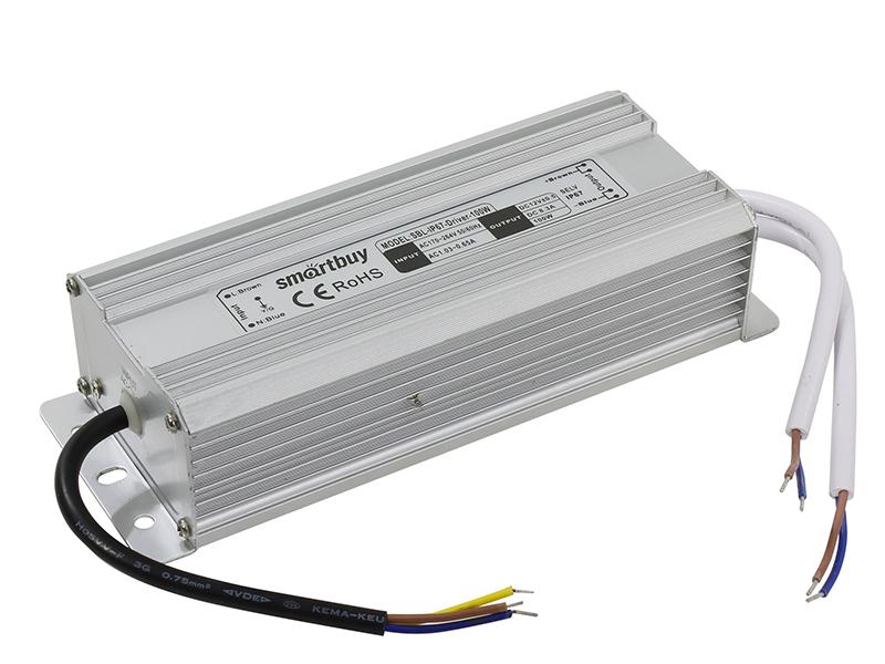 Контроллер SmartBuy SBL-IP67-Driver-100W для LED ленты IP67