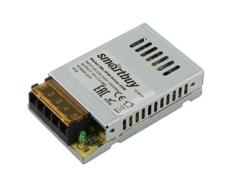Блок питания SmartBuy SBL-IP20-Driver-25W для LED ленты IP20