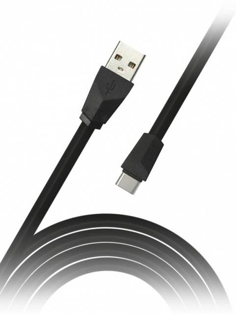 Фото - Аксессуар SmartBuy USB 2.0 - USB Type-C 1.2m Black iK-3112r клавиатура smartbuy one 112 black usb