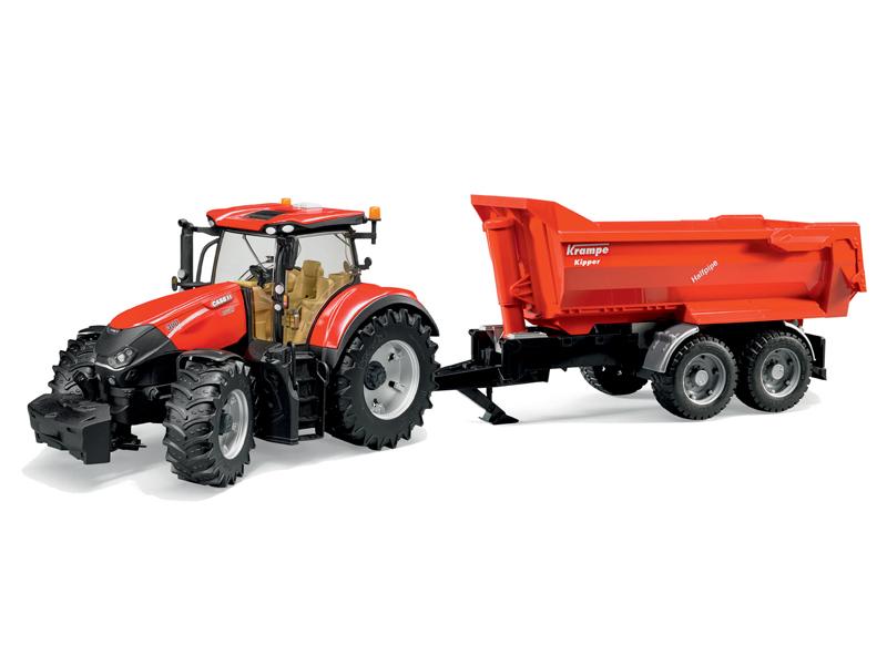 цена Игрушка Bruder Case IH Optum 300 CVX трактор 03-199 онлайн в 2017 году