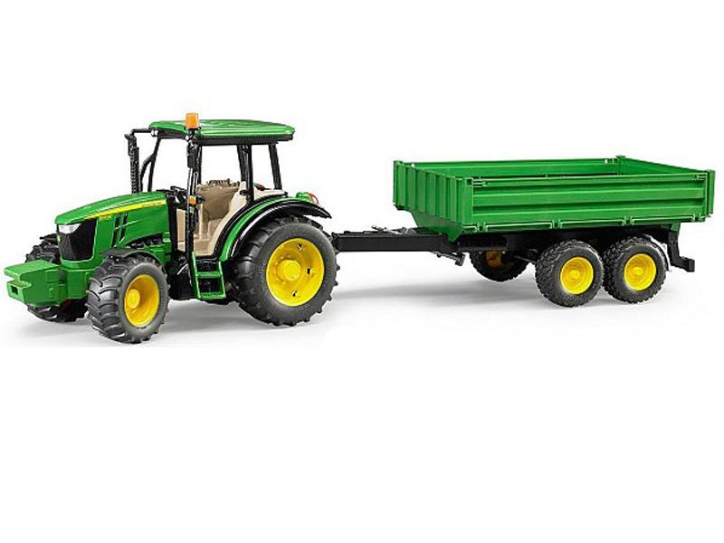 Игрушка Bruder John Deere 5115M трактор 02-108