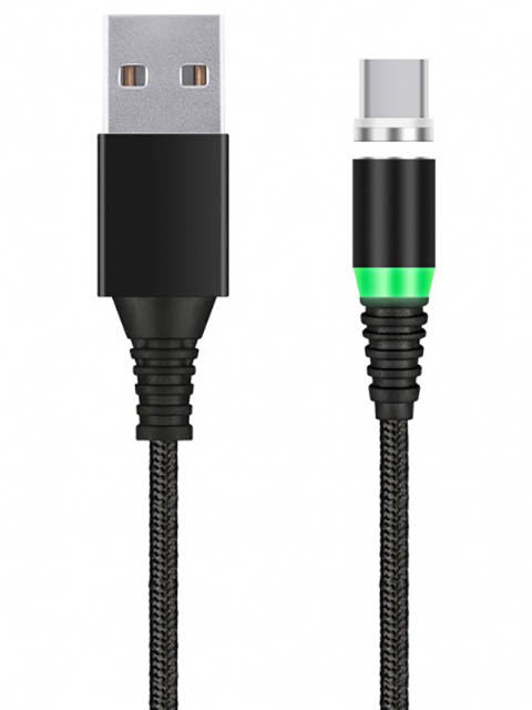 Аксессуар SmartBuy USB - Type-C 1m Black iK-3110mt-2-k