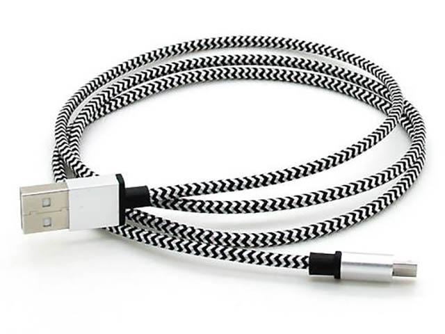 Аксессуар SmartBuy USB - microUSB 1.2m White iK-12met