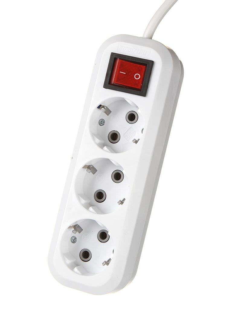 Удлинитель SmartBuy 3 Sockets 1.5m SBE-16-3-1.5-ZS