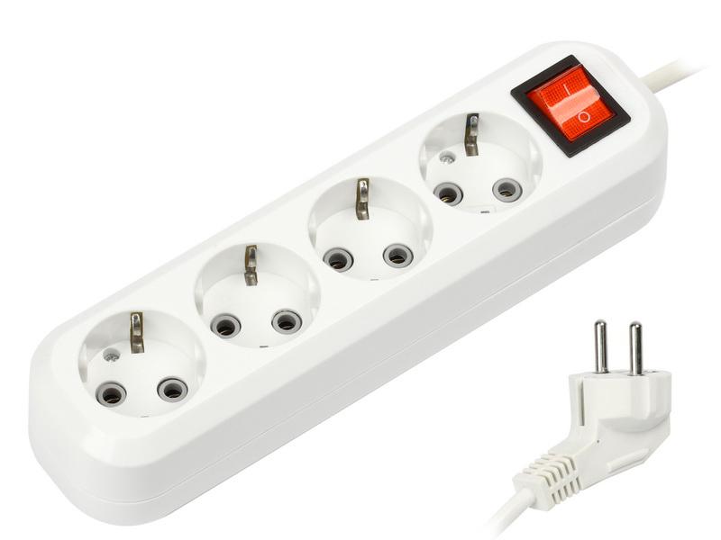 Удлинитель SmartBuy 4 Sockets 5m SBE-16-4-05-ZS