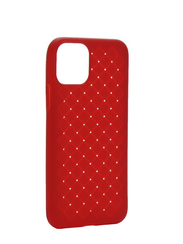 Чехол Krutoff для APPLE iPhone 11 Pro Silicone Red 12135