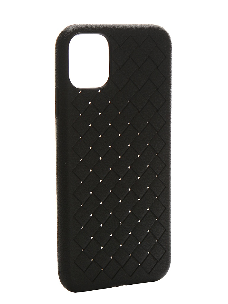 Чехол Krutoff для APPLE iPhone 11 Silicone Black 12130