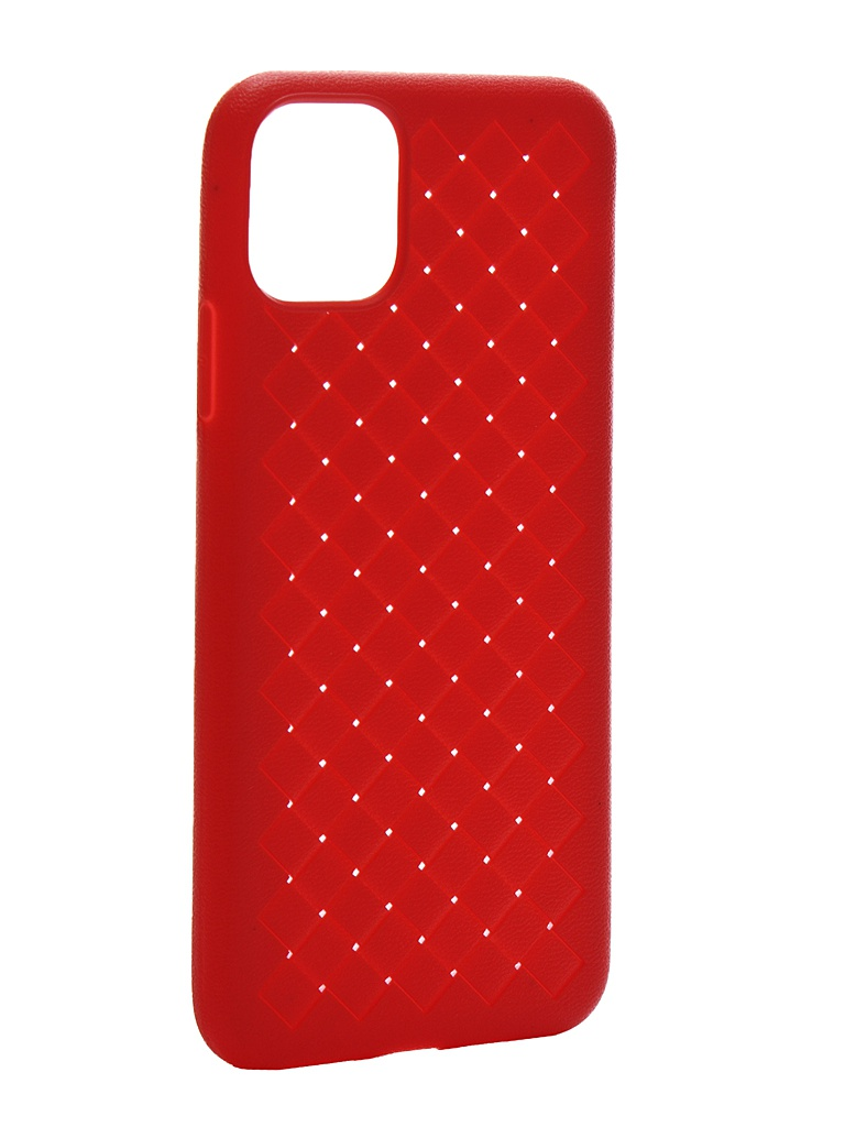 Чехол Krutoff для APPLE iPhone 11 Pro Max Silicone Red 12129