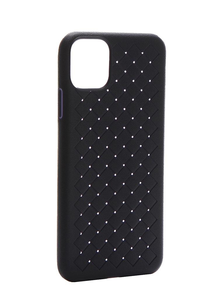 Чехол Krutoff для APPLE iPhone 11 Pro Max Silicone Blue 12128
