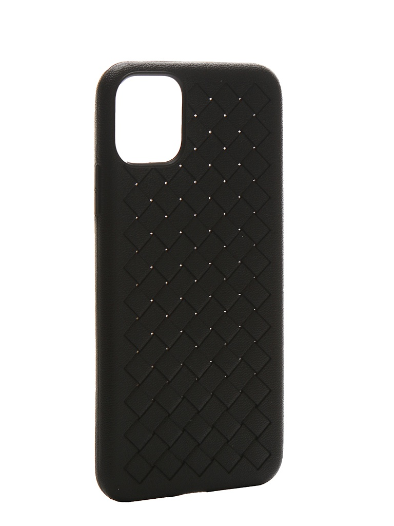 Чехол Krutoff для APPLE iPhone 11 Pro Max Silicone Black 12127 фото