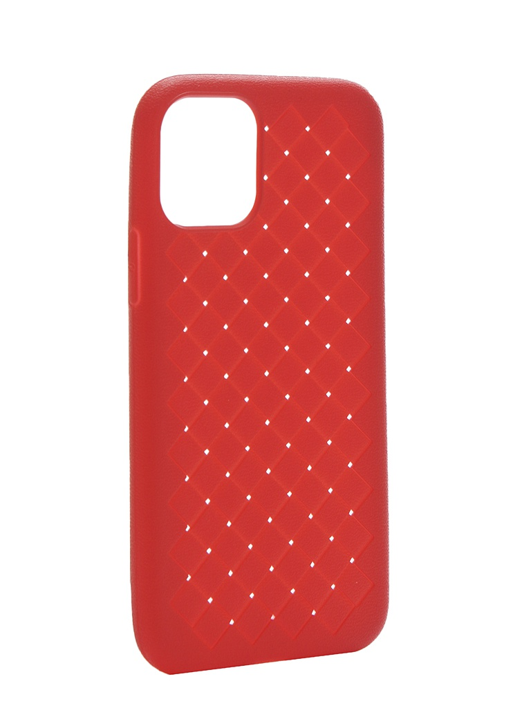 Чехол Krutoff для APPLE iPhone 11 Pro Silicone Red 12126